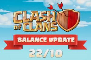 COC изменение баланса 22.10.18