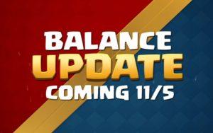 Clash Royale - изменение баланса 5 ноября