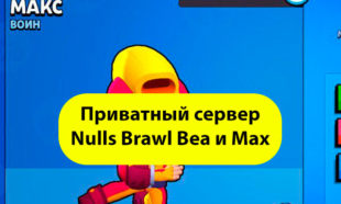 Приватный сервер с Беа и Макс Brawl Stars