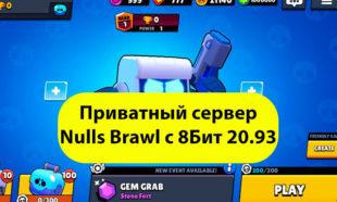 Приватный сервер Nulls Brawl с 8 бит